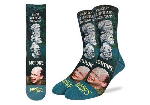 Good Luck Sock Men's The Princess Bride, Morons Socks