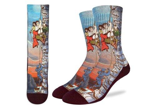 Good Luck Sock Men's The Princess Bride, Cliffs of Insanity Socks