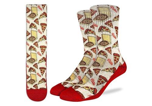 Good Luck Sock Men's Pizza Socks
