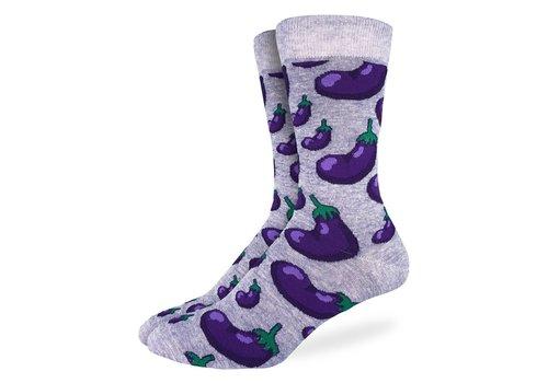 Good Luck Sock Men's Eggplants Socks