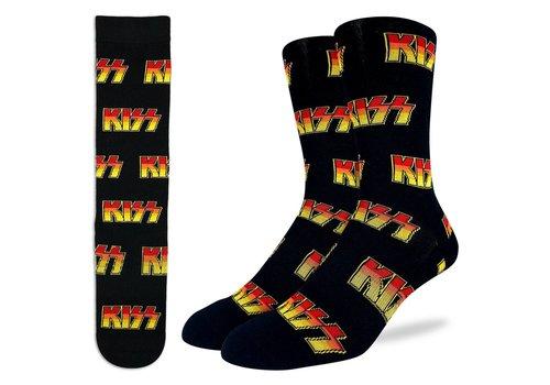 Good Luck Sock Men's KISS Logo Socks