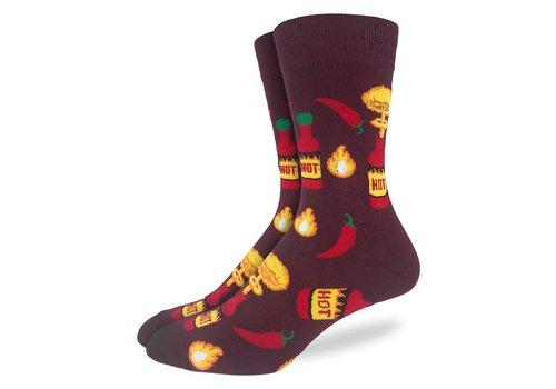 Good Luck Sock Men's Hot Sauce Socks