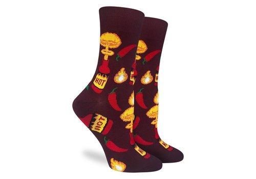 Good Luck Sock Women's Hot Sauce Socks