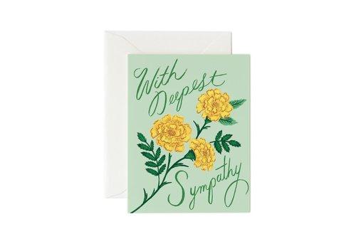 Rifle Paper Co. Marigold Sympathy Card