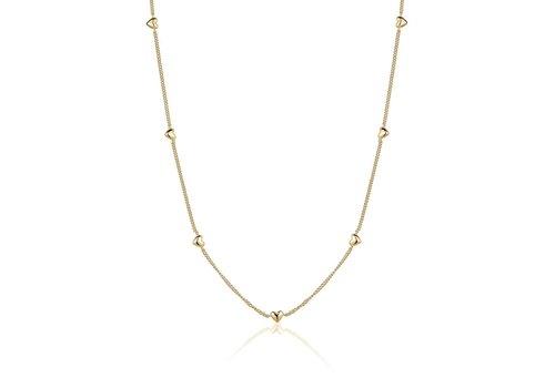 LimLim All Around Heart Necklace