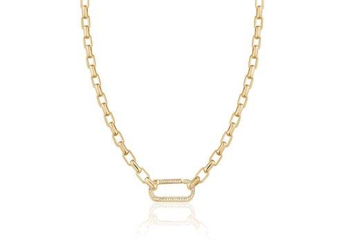 LimLim Box Chain Crystal Collar