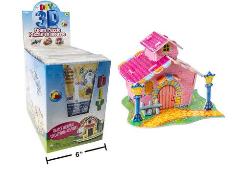 3D Foam Puzzle Villa