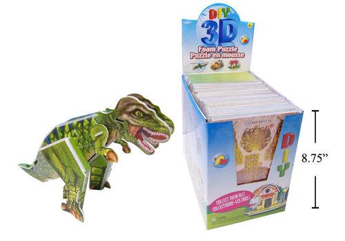 3D Foam Puzzle Dinosaur