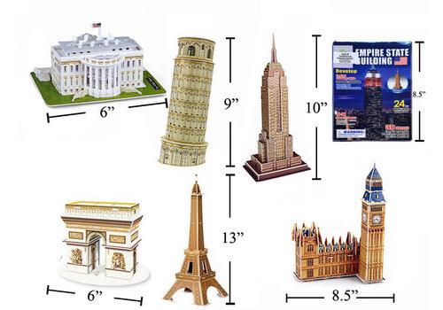 World Famous Architecture 3D Puzzle