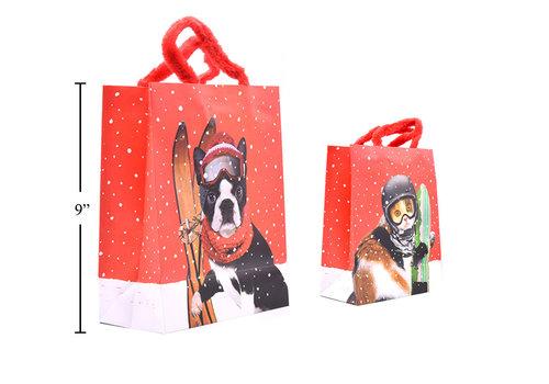 Fuzzy Handle Gift Bag Medium