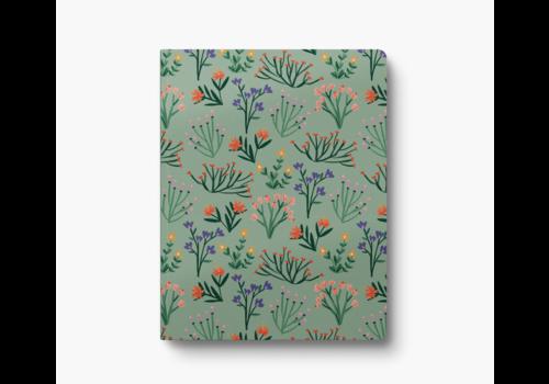 Denik Petite Blooms Large Layflat Notebook
