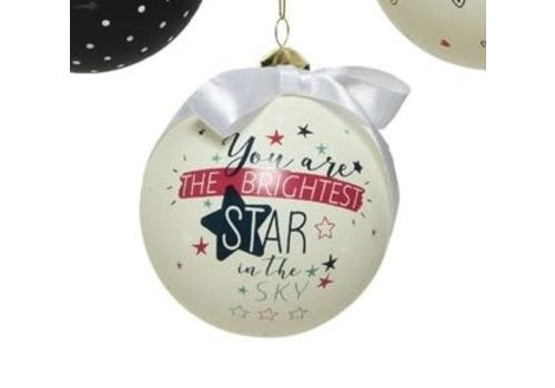 Gift Glass Bauble