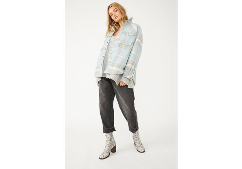 Free People Cabin Cozy Plaid