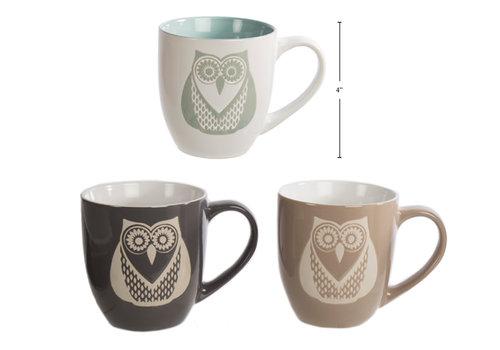 Owl Design Mug