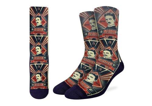 Good Luck Sock Men's Nikola Tesla Socks