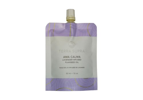Terra Supra Ama Calma Flaxseed Oil With Lavender 50ml