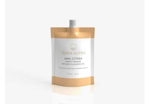 Terra Supra Ama Citrea Flaxseed Oil With Sweet Orange 50ml
