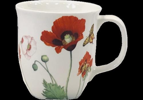 Garden Collection Poppies Java Mug