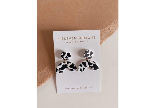 K Eleven Designs Mini Arch Cow Print