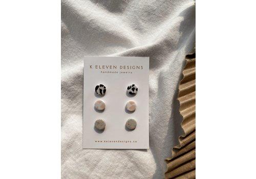 K Eleven Designs Hannah Stud Pack