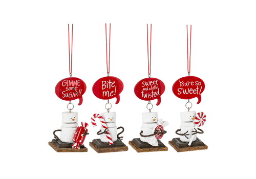 S'mores Candy Ornament
