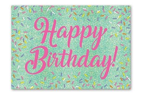 Greeting Card Birthday Sprinkles