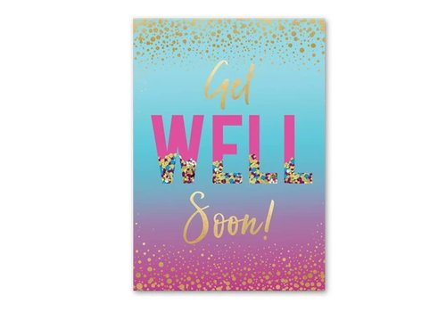 Greeting Card Confetti Get Well