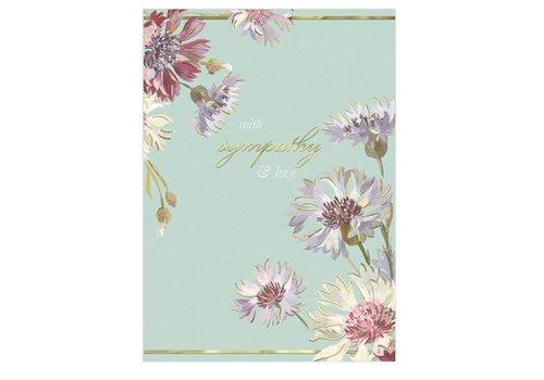 Greeting Card Sympathy Wildflower