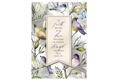 Greeting Card Sympathy Birds
