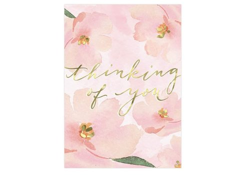 Greeting Card Toy Pink Floral