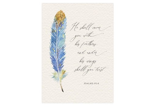 Greeting Card Support Feathers