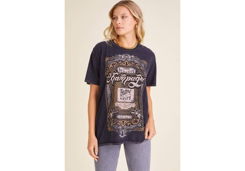 Project Social T Champagne Oversized Tee