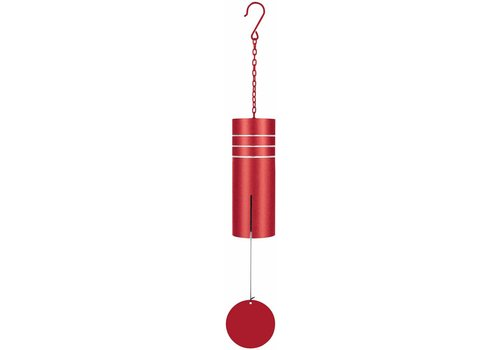 """Etched Chime Red 18"""""""