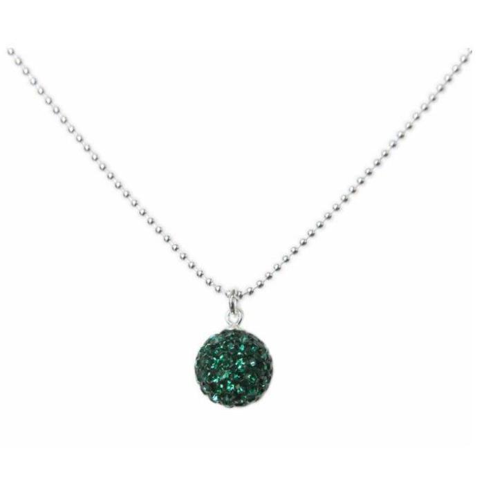 Radiance Necklace Emerald