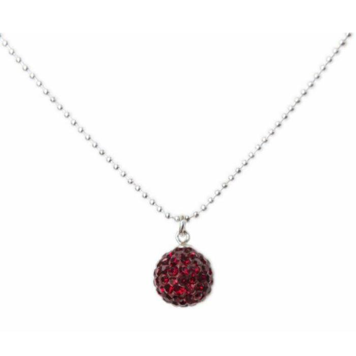Radiance Necklace Garnet