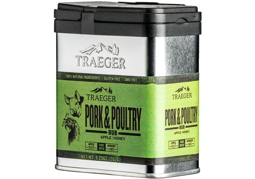 Traeger Pork and Poultry Rub 9oz