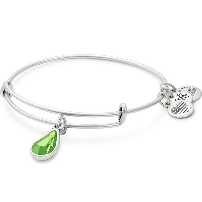 Swarovski Teardrop August Peridot