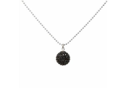 Park & Buzz Radiance Necklace Black