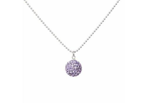 Park & Buzz Radiance Necklace Lilac