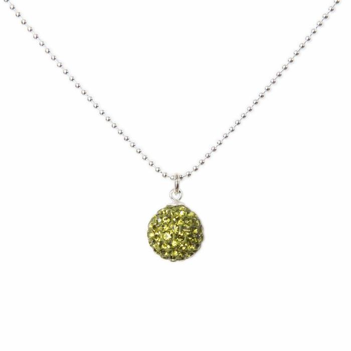 Radiance Necklace Olive