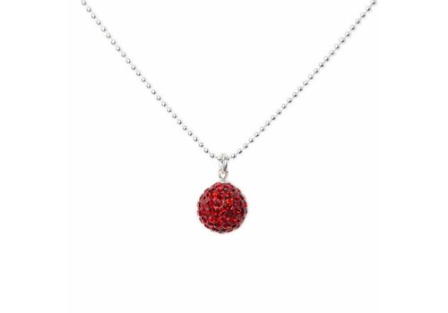 Park & Buzz Radiance Necklace Red
