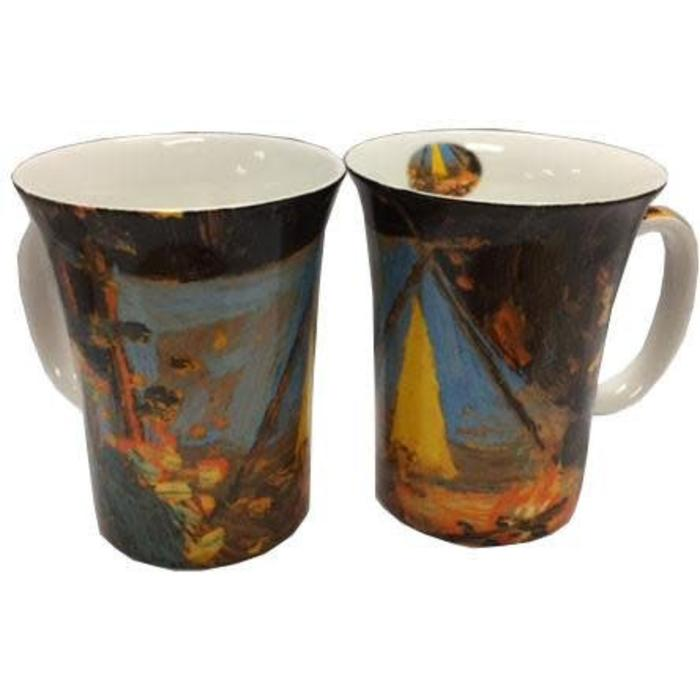 Tom Thomson Campfire Set of 2