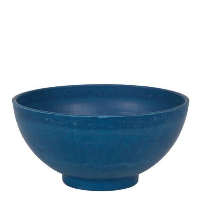 "Round Cobalt Bowl 15"""