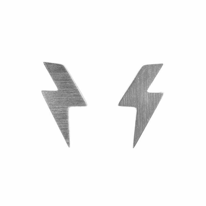 Mini Metal Stud Lightning Bolt