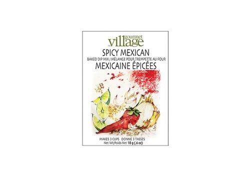 Gourmet Du Village Dip Recipe Box Spicy Mexican