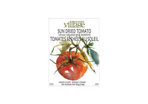 Gourmet Du Village Dip Recipe Box Sundried Tomato