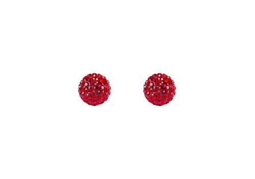 Park & Buzz Radiance Stud Red