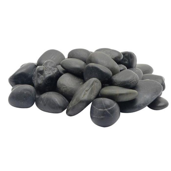 Decorative Gravel Black Beach Pebble 2kg