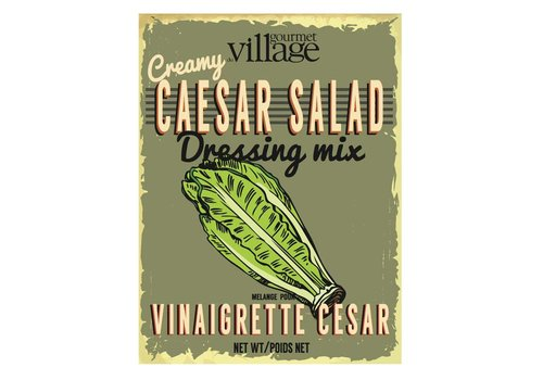 Gourmet Du Village Retro Caesar Salad Dressing Mix