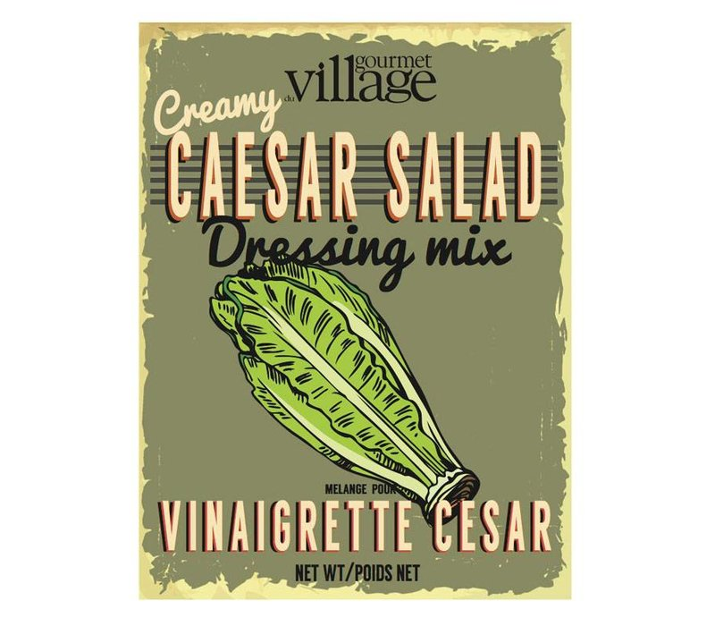 Retro Caesar Salad Dressing Mix